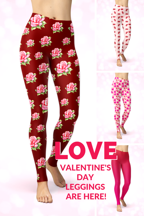 Valentine's Day Leggings are Here!