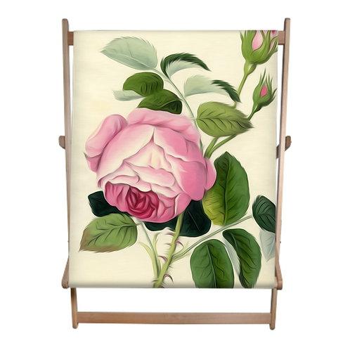 Vintage Rose Double Deckchair