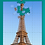 Eiffel Tower Jigsaw Puzzle verticle straight