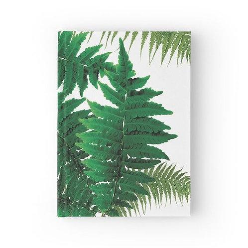 For the Love of Ferns Hardbound Journal