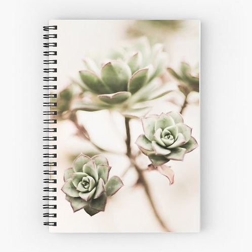 Just the Chicks Spiral Notebook Front