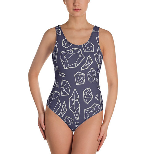 Bling Bling One Piece Swimsuit