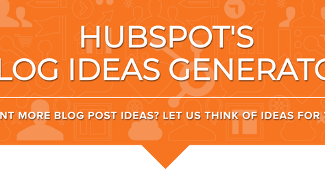 Hubspot's Magical Wonderful and Oh-So-Fun Blog Generator