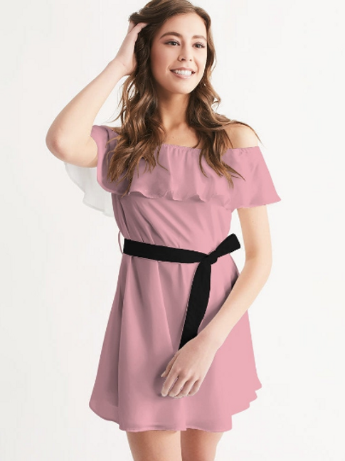 Sweetheart Off the Shoulder Dress