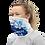 Dance Gaiter mask woman left