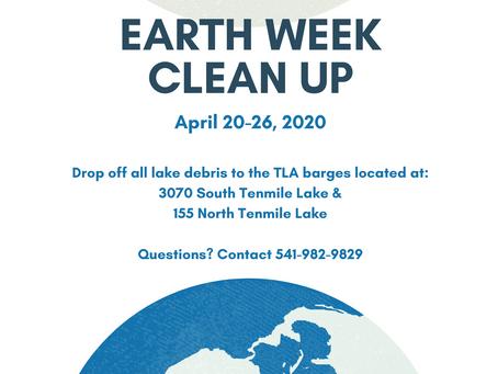 "TLA Earth ""Week"" Clean Up"