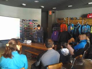 Xerrada d'entrenament de Trail Running a Fartlek Esport Santpedor