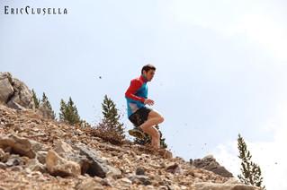 La tècnica de baixada en curses de muntanya