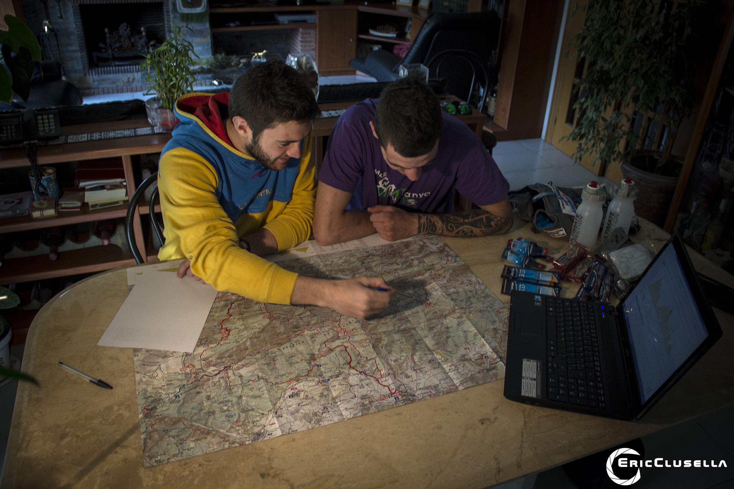Planificant i estudiant una cursa