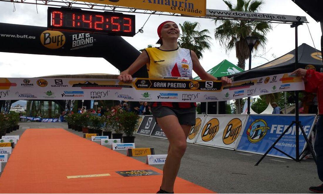 Maria Beringues, Campiona d'Espanya.