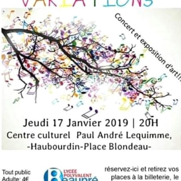 Nouveau concert du lycée Beaupré!