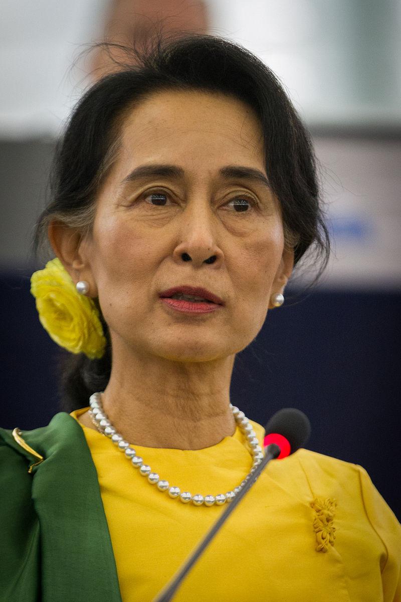 Aung San Suu Kyi en 2013