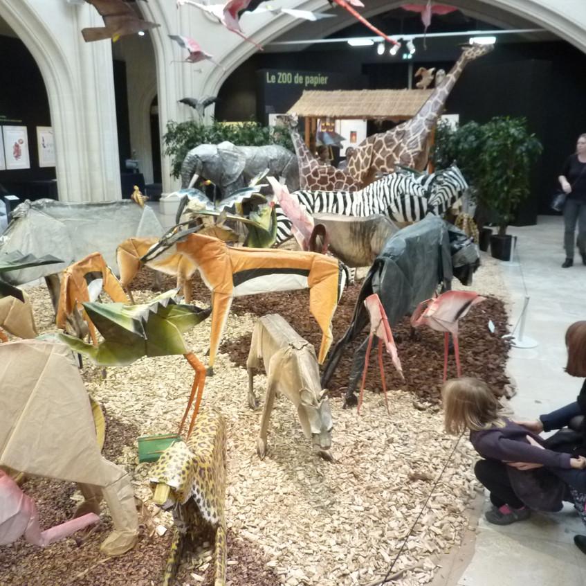 "Exposition ""Zoo de Papier"""
