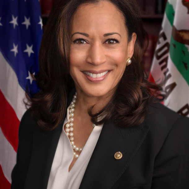 Kamala Harris, a female politician who will stay in our minds