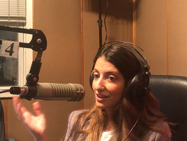 Inna on Davidzon Radio with Councilman Chaim Deutsch and Dr. Faye Zakheim