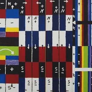 Alfred Jensen, A World in itself, 1961