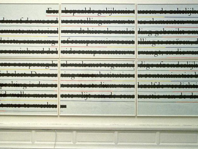 Joseph Kosuth, Zero & Not, 1985-1986