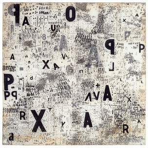 Mira Schendel, Objeto gráfico, 1967 #asemicwriting