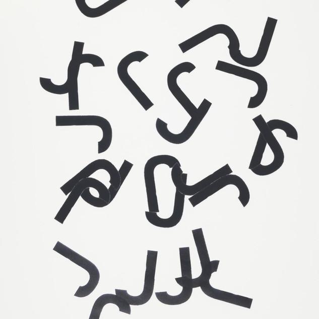 Hansjörg Mayer, The Last Alphabet, 1969