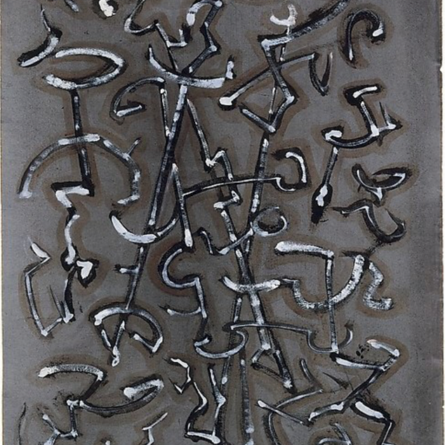 Mark Tobey, Transit, 1948
