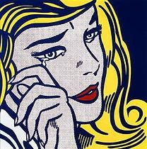 Crying Girl, Lichtenstein, 1964.jpeg