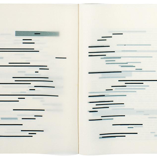 Marcel Broodthaers, Un coup de dés jamais n'abolira le hasard (fragment), 1969