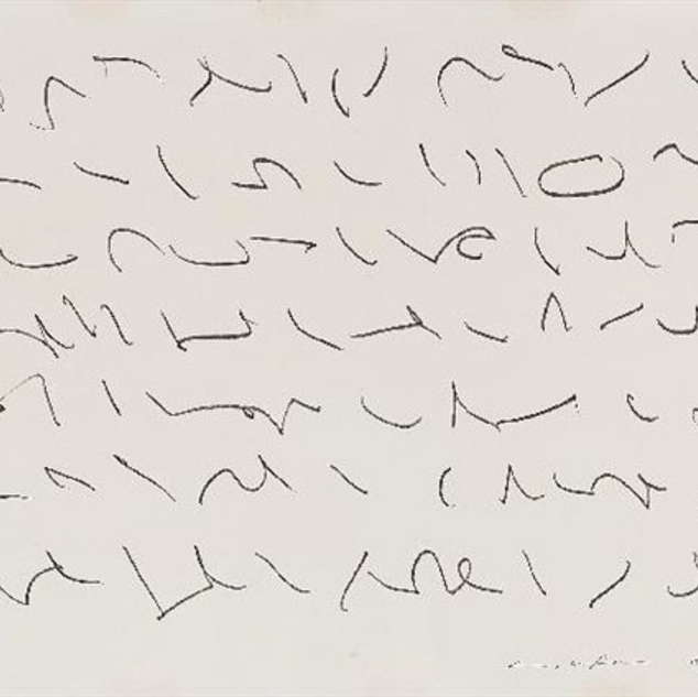 Lee Ufan, Untitled, 1983