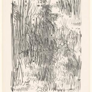 Jasper Johns, Alphabets, 1962