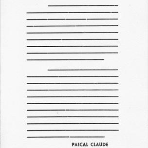 Claude Pascal, Prefacio para el catálogo de Yves Klein, Peintures, 1954. Cortesía de @pablo.rasgado