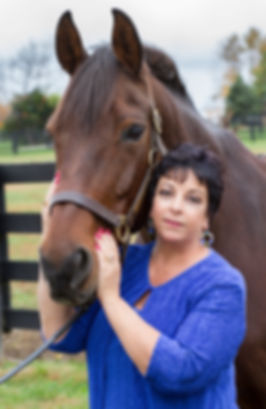 Latifa and horse