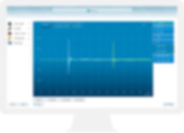 Dirac Live software screen shot of impulse response