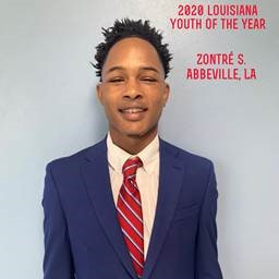 Zontre' S. in the new Louisiana State Youth of the Year!