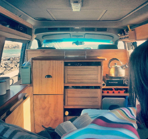 Buddy's interior