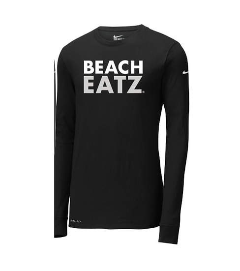 Black Beach Eatz Dri-Fit Long Sleeve