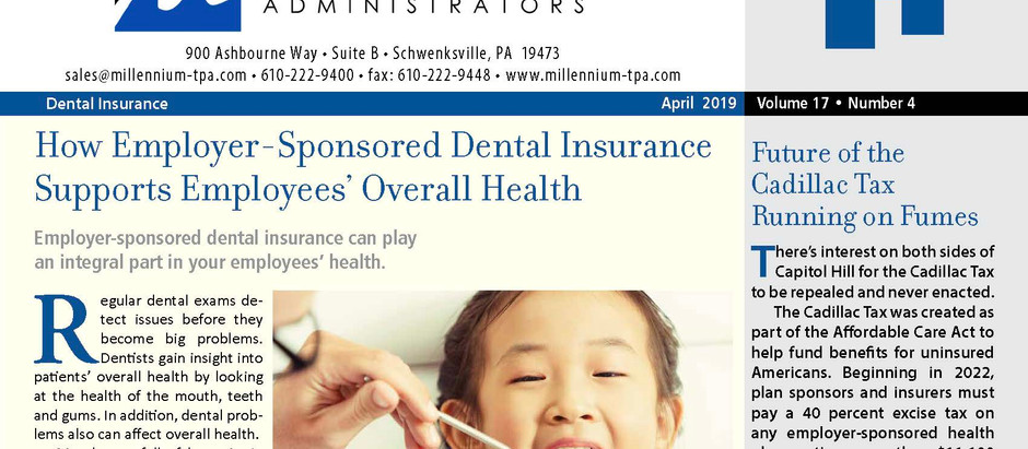 How Employer-Sponsored Dental Insurance Supports Employee's Overall Health