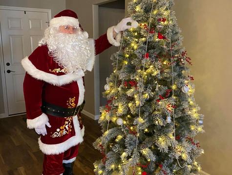 Santa Claus is Covid Free