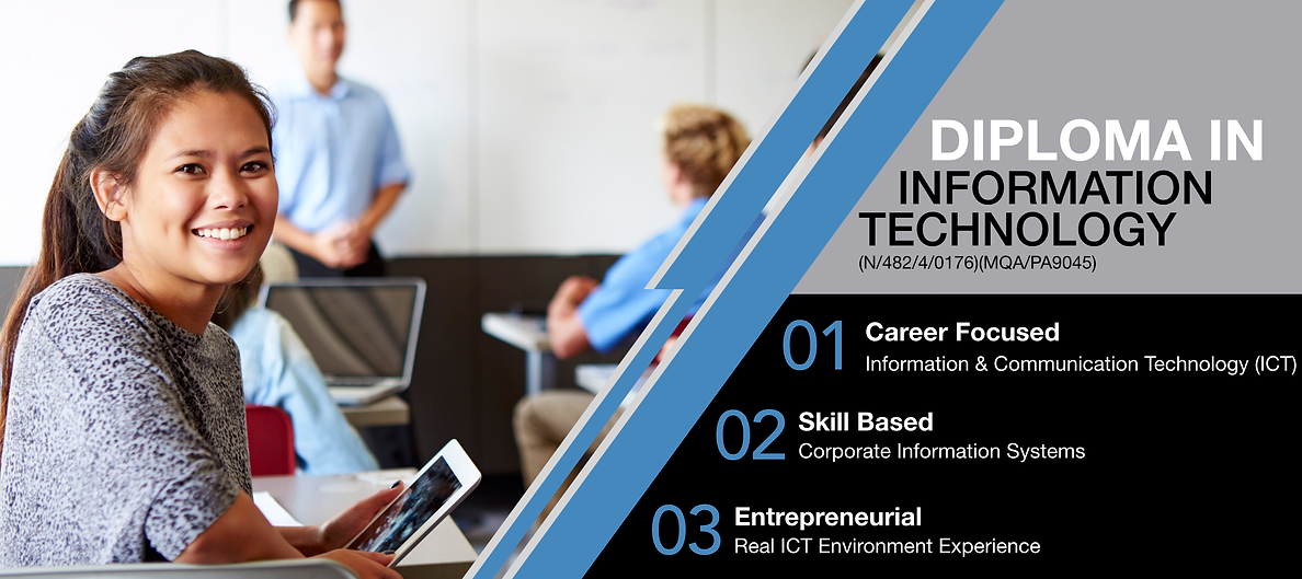 Diploma in Information Technology Banner