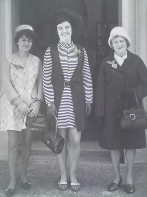 Joyce, May and Sarah