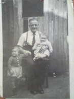 Robert Watters Willighan (Bobby) with grandchildren Jim (of Bobby & May) and Anne (of Jim & Joyce) circa 1957