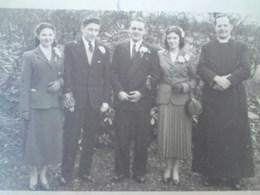 Bobby and May wedding 1954