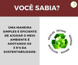 5 Rs da Sustentabilidade