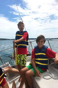 Kids sailing lessons