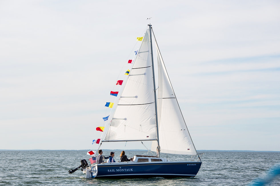 Sail Montauk private sailing charters and lessons