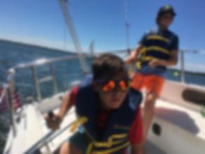 Kids Sailing Lessons