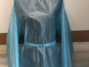 国産 日本製 国内製造 アイソレーションガウン(医療用ガウン) 縫製工場 株式会社アイエスジェイエンタープライズ