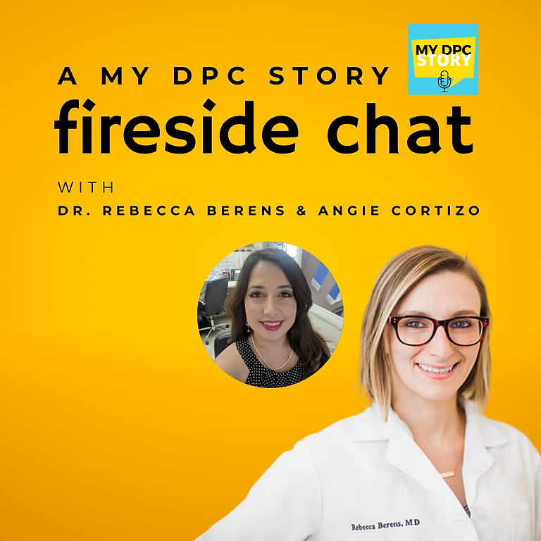 Fireside Chat with Dr. Rebecca Berens & Angie Cortizo
