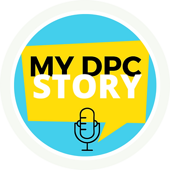 My DPC Story  - A Direct Primary Care Podcast LOGO