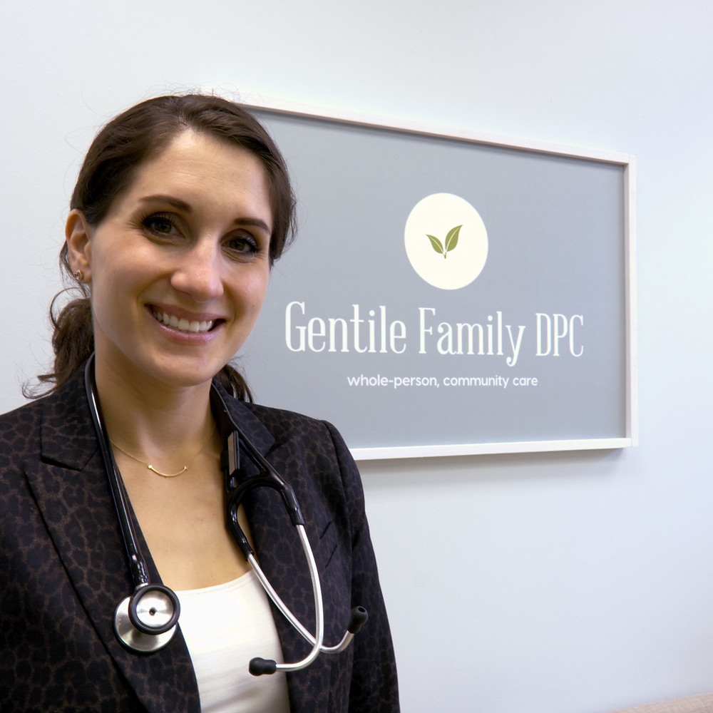 Dr. Gentile is double boarded in Family and Lifestyle Medicine.