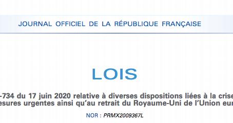 COVID -19 : Entrée en vigueur de nouvelles dispositions en matière de droit des étrangers
