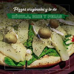 Pizza Rúcula, Brie y Peras - Puerto Pampa - Mar de las Pampas